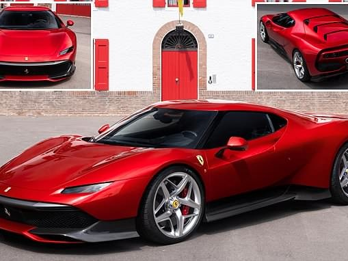 The one-off Ferrari SP38 built for one of its 'most dedicated customers'