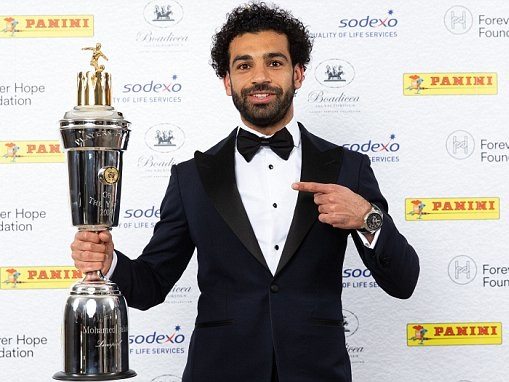 Liverpool star Mohamed Salah named PFA Player of the Year 2018