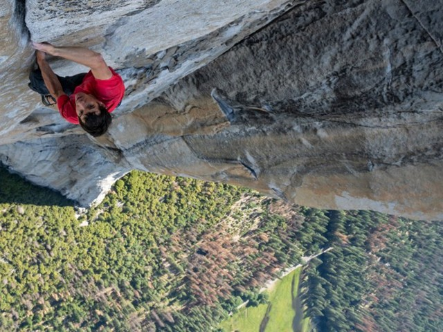 The directors of Oscar-winning documentary 'Free Solo' explain why they made the risky decision to film Alex Honnold's 3,000 foot climb up El Capitan without a rope