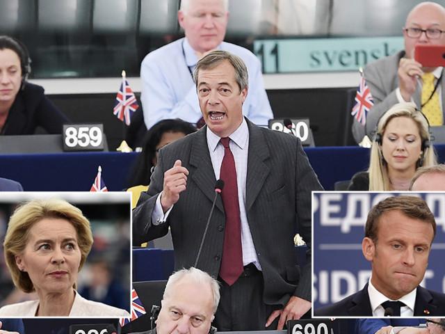 'Updated communism & Napoleon': Farage savages EU Commission head nominee & Macron (VIDEO)