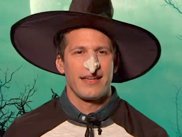 Andy Samberg Casts A Spell Over Donald Trump's 'Witch Hunt' Claims