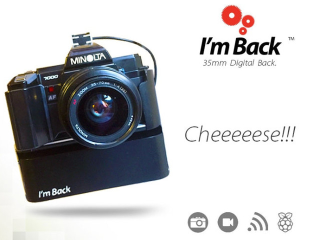 Transform Your Old SLR Camera Into A DLSR Using I'm Back