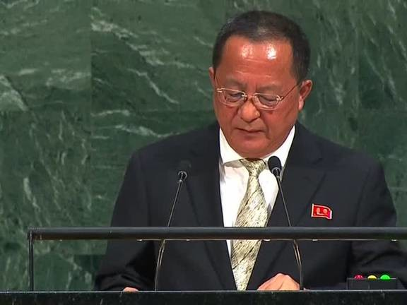 North Korea responds to Trump at the UN