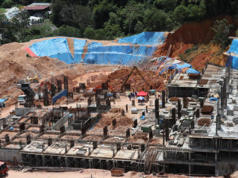 Penang landslide: Search and Rescue operations halted due to poor visibility