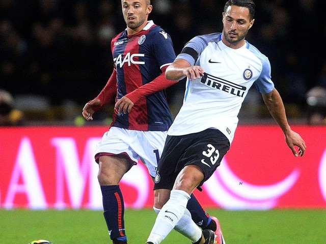 Late penalty salvages point for Inter Milan
