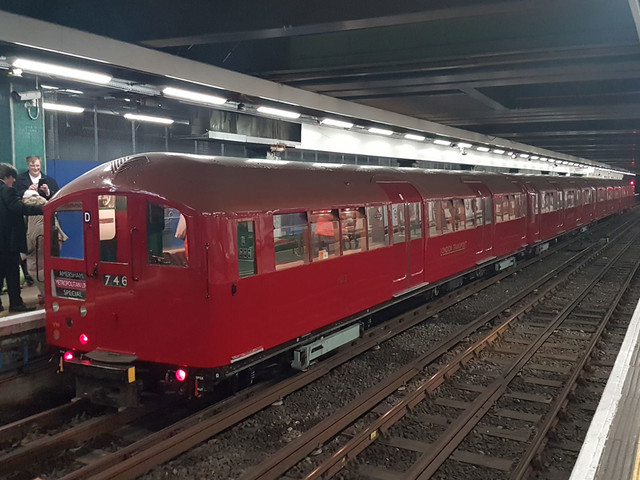 See a vintage tube train on the London Underground this Sunday