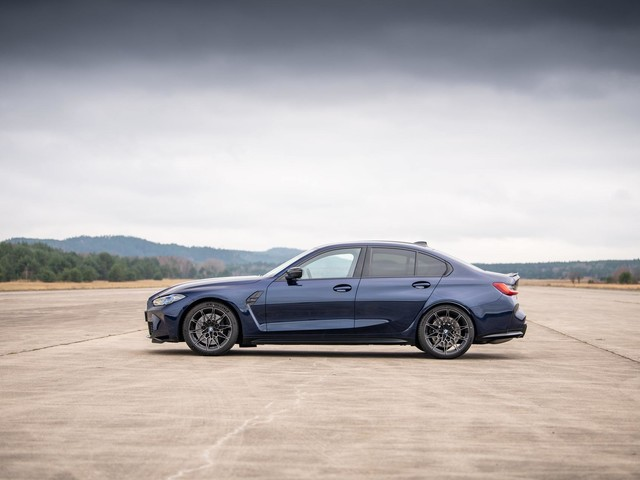 Take a Look at the G80 BMW M3 Next to Some of its Ancestors