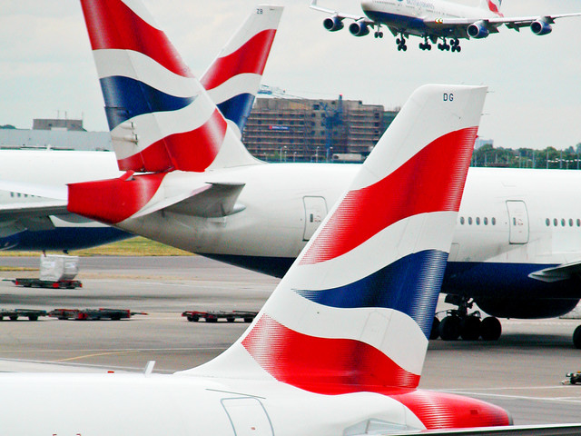 British Airways emits more CO2 per passenger than rivals