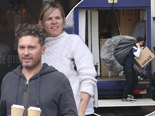Zoe Ball moves out of her home close to ex Norman Cook