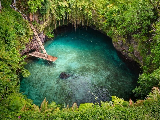 12 of the best places in the world to go wild swimming