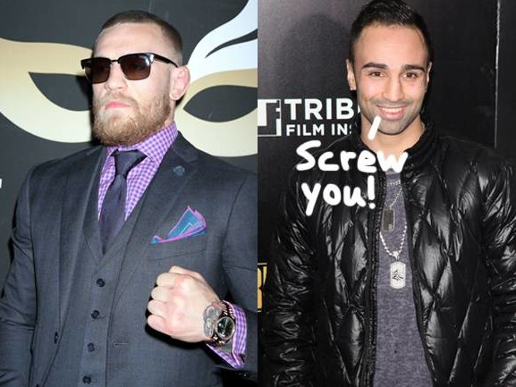 Former Boxer Paulie Malignaggi Confronts Conor McGregor To His Face: 'Did You Bring Your Balls, Conor?'