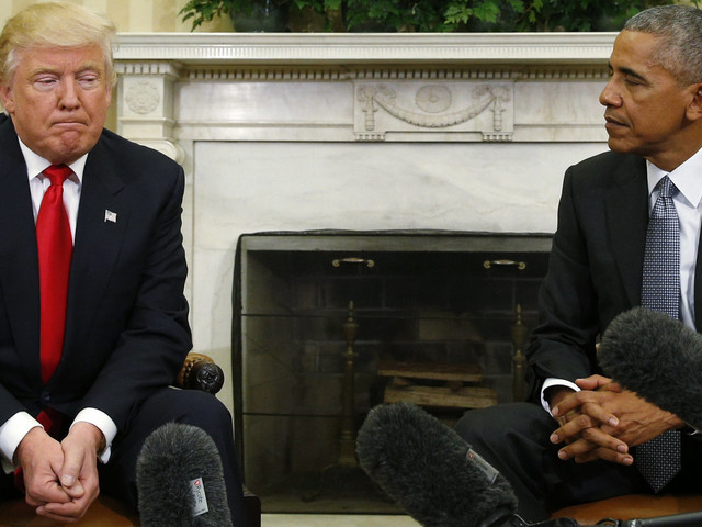 Trump Transition's Handling Of Sensitive Details Reportedly Alarmed Obama Officials