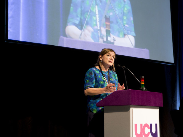 "TUC President Sally Hunt on a changing union movement: ""We're not interested in being a relic"""