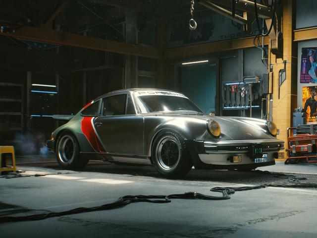 1977 Porsche 911 Turbo reimagined as sci-fi restomod
