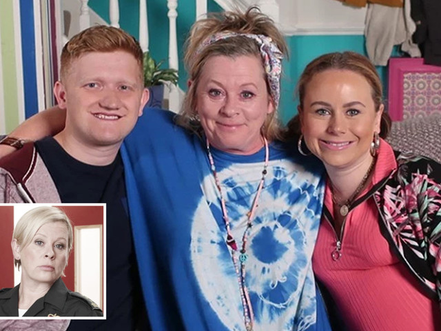 Coronation Street gives fans first look at Gemma Winter's mum as Casualty star Jane Hazlegrove joins the cast