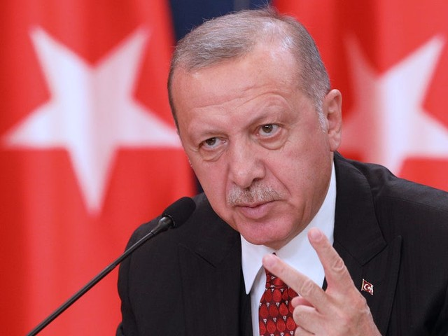 Turkey's President Erdogan snubbed a meeting with Pence and Pompeo over Syria, and said he will only deal directly with Trump