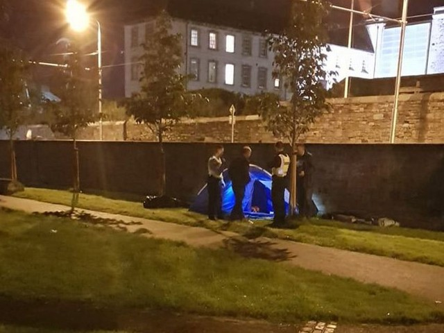 Homeless man living in tent viciously assaulted in late-night knife attack in Dublin city centre