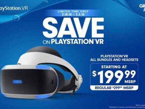 PlayStation VR Price Drops to $199.99 Starting February 18
