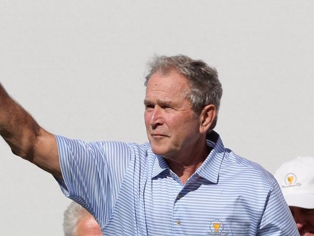 In private dinner, George W. Bush criticizes Trump's decision to add North Korea to travel ban
