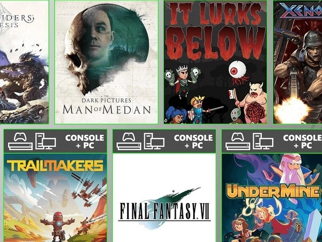 August's Game Pass offerings include Final Fantasy 7 HD and Man of Medan