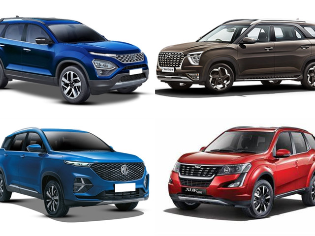 Hyundai Alcazar vs rivals: Price, specifications comparison