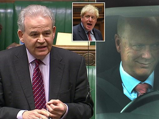 Julian Lewis accuses PM of 'improper' bid to seize control of security watchdog