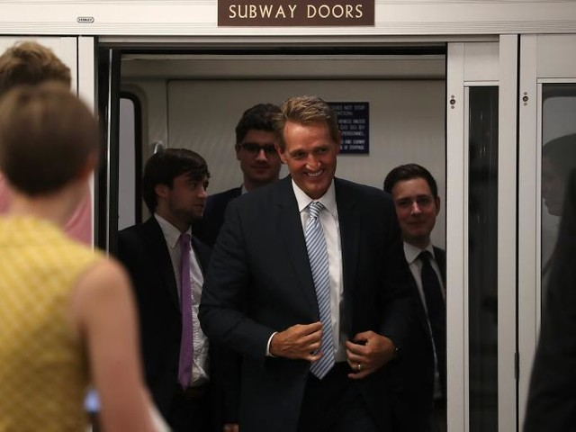 Donald Trump Hates Sen. Jeff Flake. How Far Will He Go to Defeat Him?