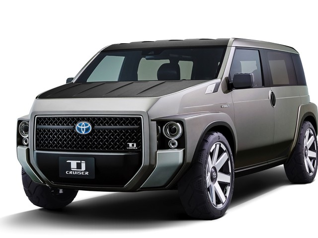 Toyota TJ Cruiser is reportedly headed to production