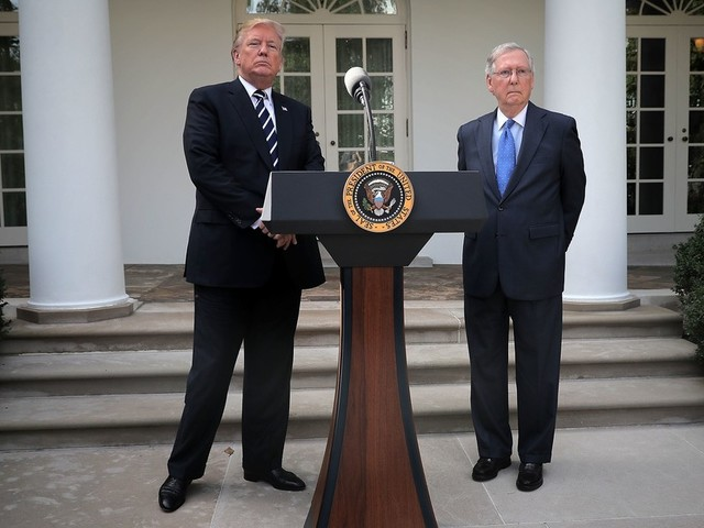 Trump and McConnell assure everyone things are copacetic: 'We are together totally'