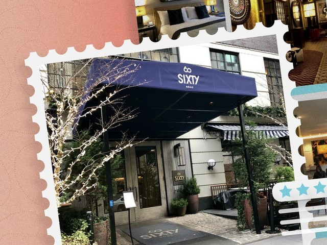 Located near New York City's best shopping and dining, Sixty SoHo made me feel like a downtown A-lister