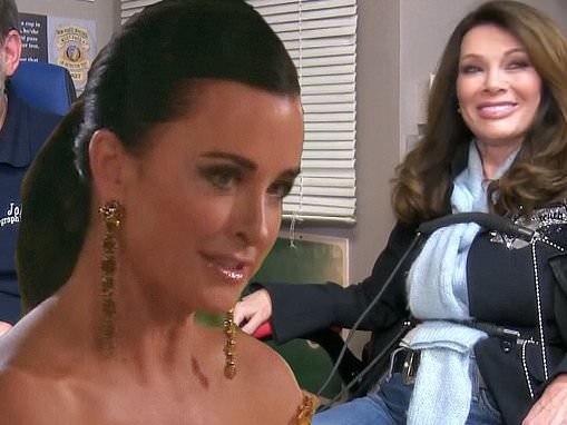 Real Housewives Of Beverly Hills: Kyle Richards finds out that Lisa Vanderpump took polygraph test