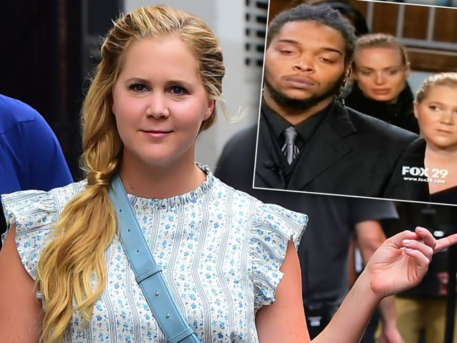 Amy Schumer Attends 'Judge Judy' Taping, Twitter Fans Are Confused