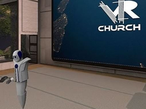 Watch as pastor BAPTIZES an anime girl in virtual reality while Tigger and a banana look on