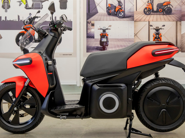 SEAT unveils its first ever electric motorbike and it costs just £1-a-week to run