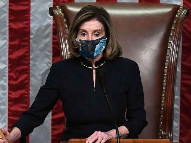 Pelosi says lawmakers will be issued with $5,000 fines if they bypass metal detectors to get to the House floor