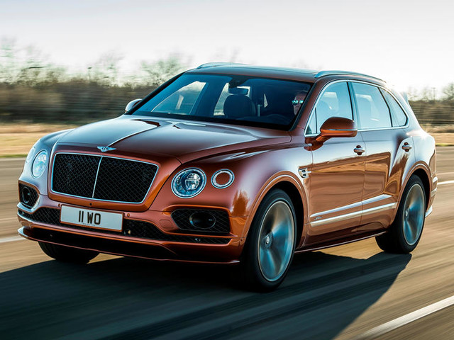 Bentley Claims New Bentayga Speed As 'World's Fastest SUV'