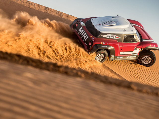 Mini John Cooper Works Buggy targets Dakar Rally win with rear-drive layout