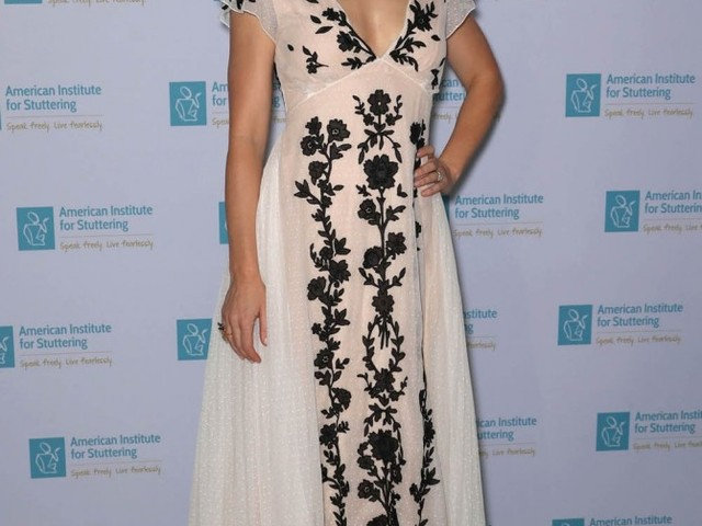 Emily Blunt in black and white Christian Dior: retro cool or too old-fashioned?