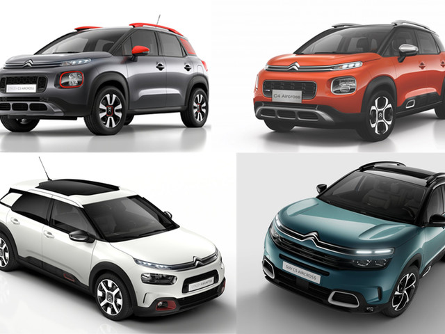 The Citroen SUV range: A close look