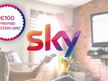 Sky offering €100 prepaid Mastercard to new TV customers