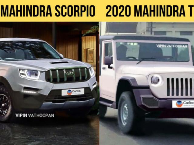 2020 Mahindra Scorpio, New Thar Likely To Debut At 2020 Auto Expo