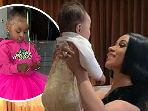 Cardi B shares sweet photos of her daughter Kulture to celebrate National Daughter's Day