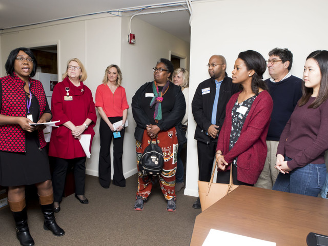 Chancellor's Charter visits organizations addressing homelessness, human trafficking, addiction