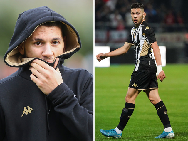 Angers winger Farid El Melali 'arrested and quizzed for masturbating in public for second time this year'