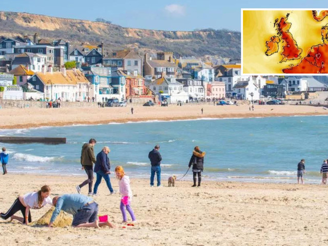 UK weather forecast – Easter weekend heatwave starts today with 21C scorcher and lots of sunshine