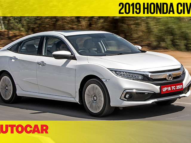 Review: 2019 Honda Civic India video review
