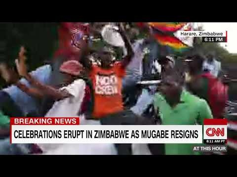Zimbabwe's Mugabe Steps Down After 37 Years In Power