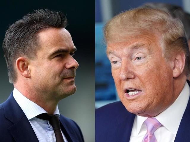Ajax chief Marc Overmars compares Uefa, Dutch FA to Donald Trump over coronavirus response