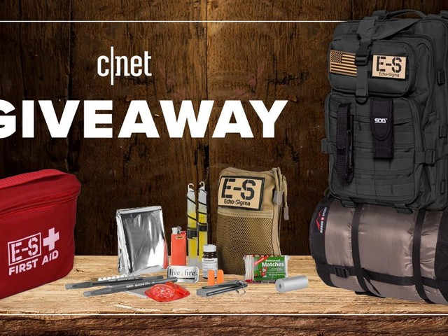 Win a bug-out bag complete emergency kit* - CNET