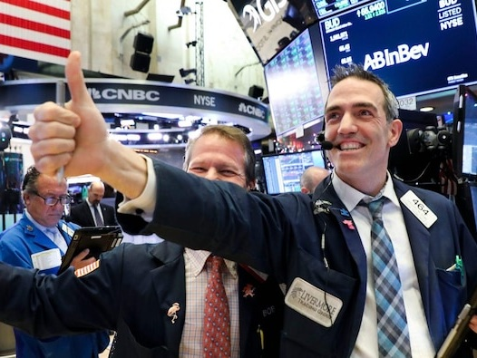 Dow posts best monthly gain since 1987 on continued vaccine optimism